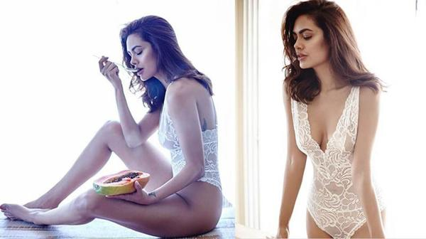 OMG - Bend It Like Esha Gupta!