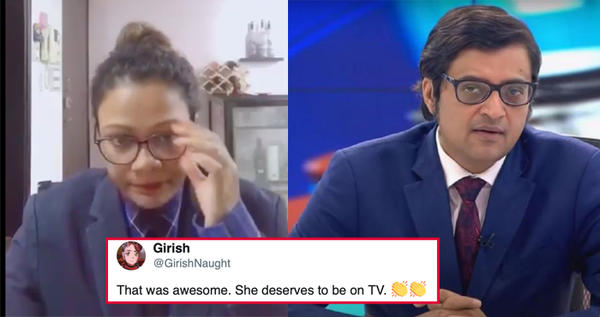 The Internet Loves 'Lady Arnab'!