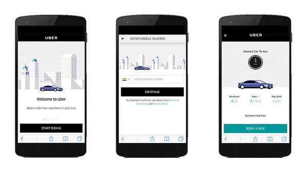 Uber Rolls Out 'Dial an Uber' Feature in all 29 Cities in India.
