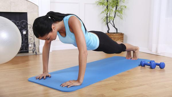 Simple Exercises to Tone Up At home.