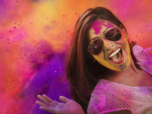 Enjoy Holi, But Don't Allow it to Ruin Your Skin and Hair!
