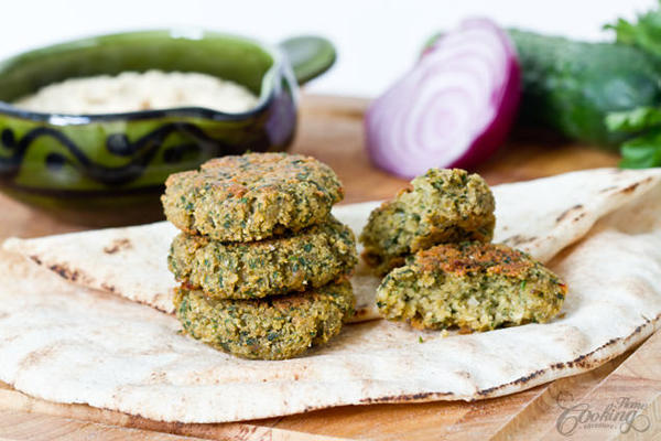 Healthy Snack: Baked Falafel Recipe