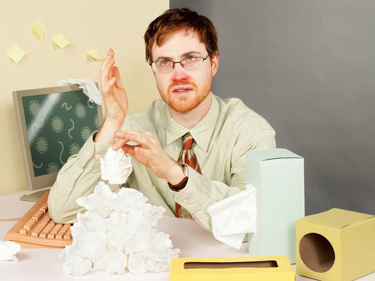 Sickness Etiquette for Dummies!