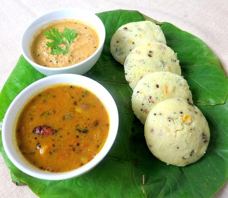 Healthy Experiments With Idlis