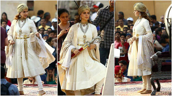 Kangana Ranaut's First Look As Rani Laxmi Bai.