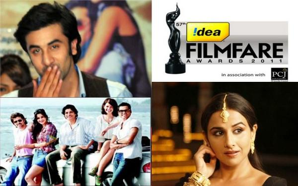 57th Filmfare Awards Winners - 2012