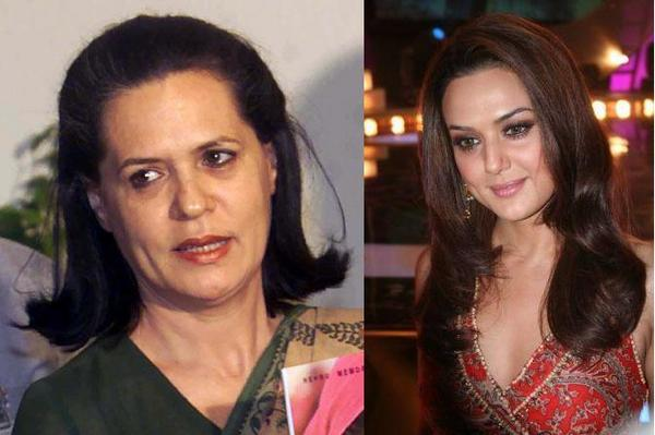 And Now Watch Sonia Gandhi Onscreen