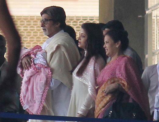 Beti B is Aaradhya Bachchan!