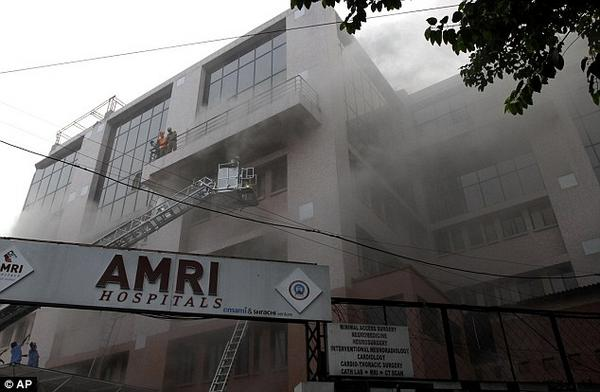 AMRI, Kolkata Hospital Fire - Another Black Day in India