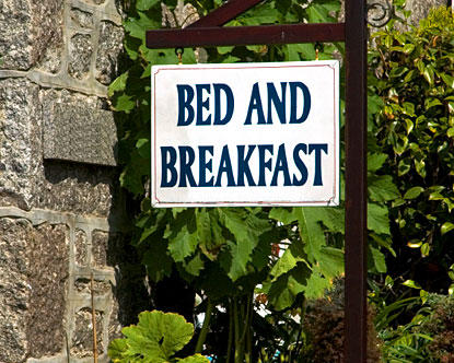Staying At A Bed And Breakfast