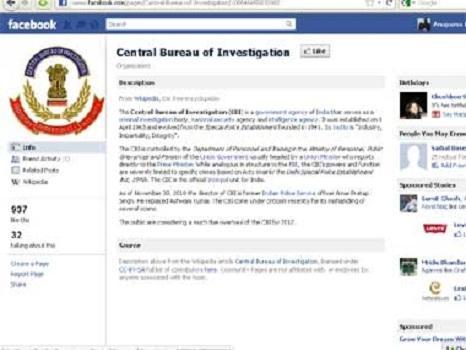 CBI On Facebook!