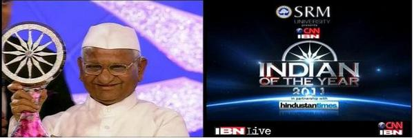 Indian Of The Year 2011 - Anna Hazare