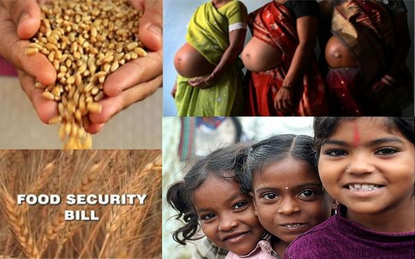 Food Security Bill to Benefit Preganant and Nursing Mother