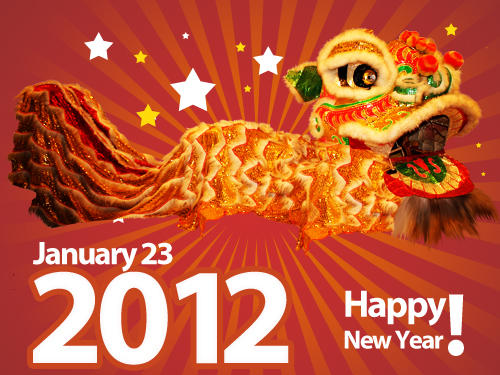 Happy Chinese New Year of Dragon and Predictions for 2012