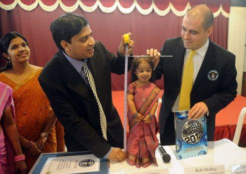 Meet Jyoti Amge, World's Shortest Woman