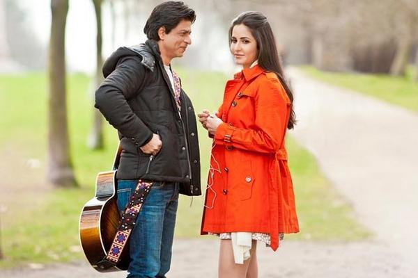 SRK and Katrina in London