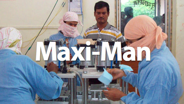 Muruganantham, The Maxi-Man who made Maxi Pads more Affordable to Poor Women