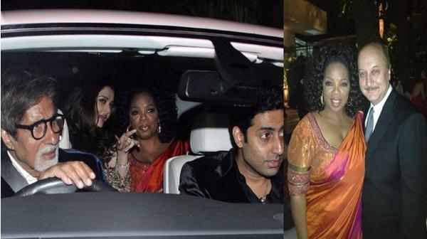 Oprah Winfrey in Mumbai
