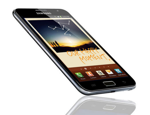 Galaxy Note - A Hybrid of Phone and Tablet