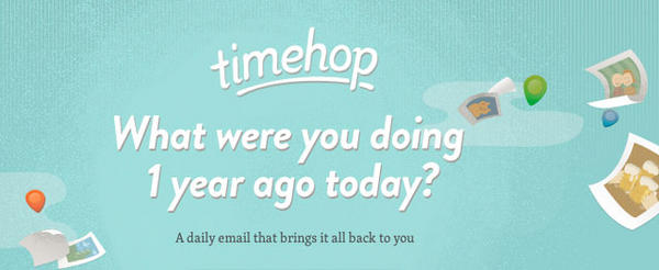 Timehop - The Service that takes you one year back