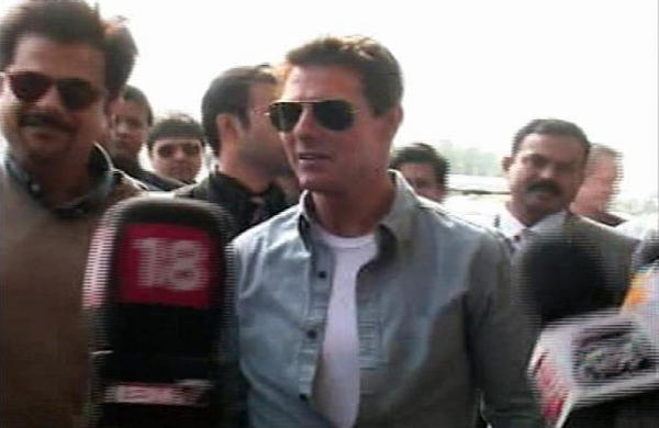Tom Cruise in India to Promote 'Mission Impossible 4'