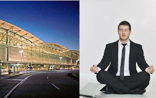 World's first dedicated Airport Yoga room in San Francisco