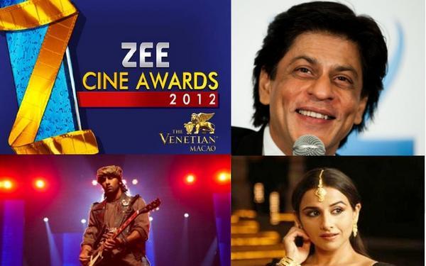 Zee Cine Awards 2012 Winners