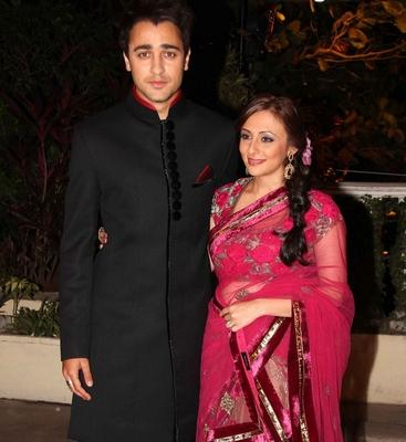 Bollywood Attends Imran's Reception