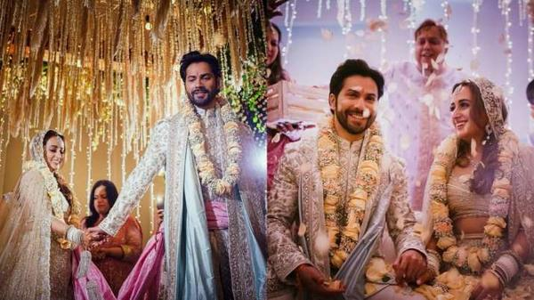 Enjoy These Images from Varun-Natasha Wedding in Alibaug