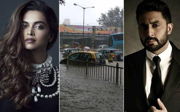 As Mumbai Struggles With Heavy Rains, Read What Our B-Town Celebs are Tweeting...