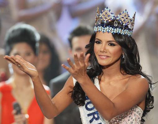 Miss World 2011 Winner - Miss Venezuela Ivian Sarcos