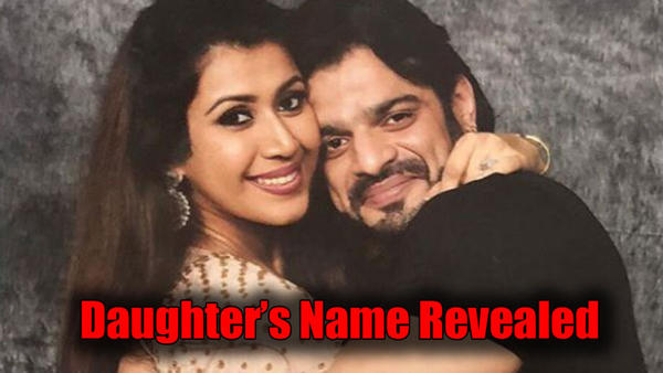 Karan Patel and Ankita Bhargava Reveal the Name of Their Baby