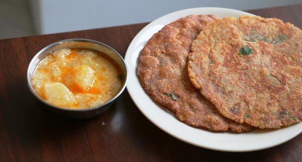 Navratri Recipes: Kuttu Parantha