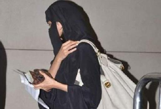 Why Is This Celebrity In A Burqa?