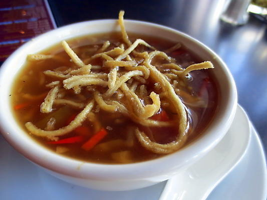 Hot Manchow Soup for the Winters!