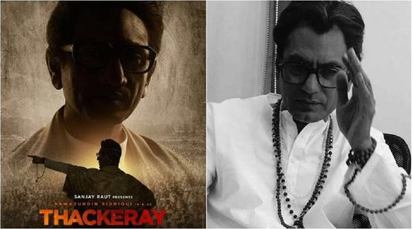 Nawazuddin Siddiqui in and as Thackeray