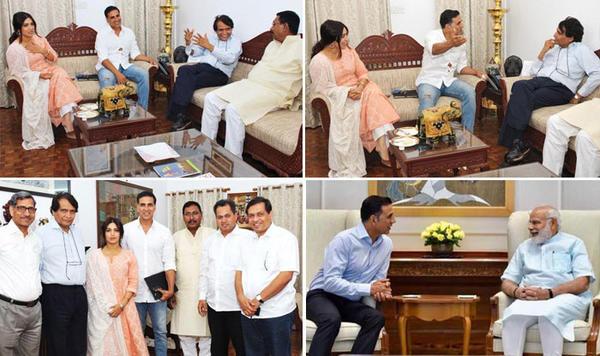 PM Modi Reacts to Akshay's film!