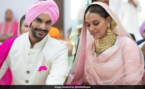 Neha Dhupia is Now Mrs. Bedi!