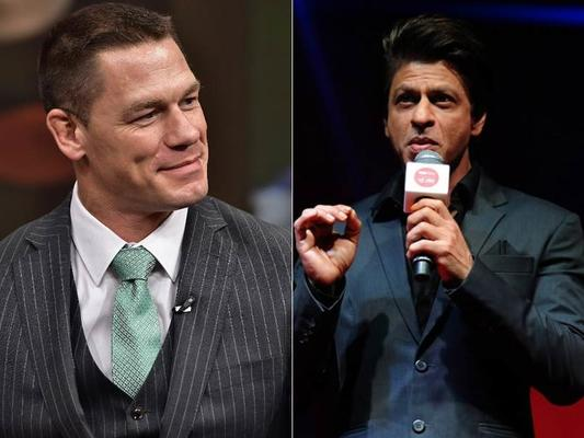 Why's Wrestler John Cena Going Gaga About SRK?