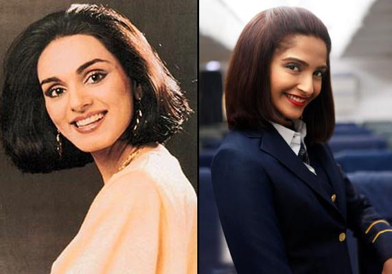 Sonam Shares Her First Look As Neerja Bhanot
