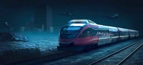 Coming Soon - Underwater Train from Mumbai to UAE!