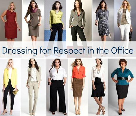 How to Dress Up for Work and Look Good!