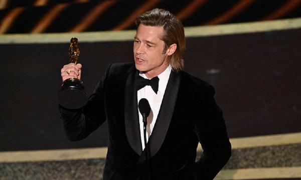 Brad Pitt Finally Wins His First Oscar for Best Actor!