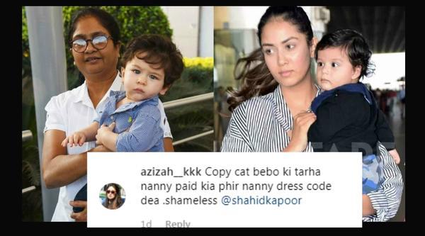 Mira Rajput Trolled for Hiring Taimur's Nanny!