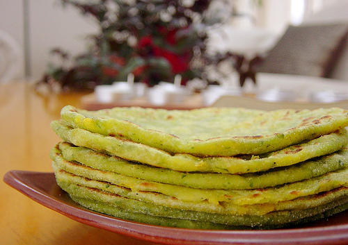 Aloo Parathas With A Green Twist