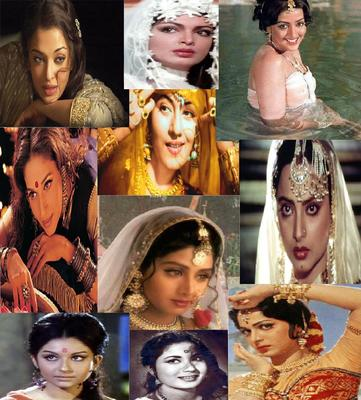 5 Most Beautiful Leading Ladies of All Times in Bollywood.