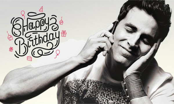 Happy Birthday Akshay Kumar!