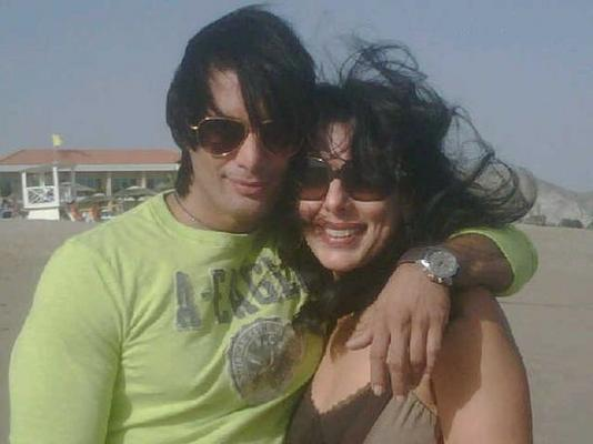 Pooja Bedi With Akashdeep Saigal