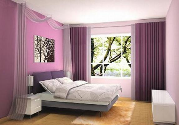 Purple Walls For Brighter Sex Life?