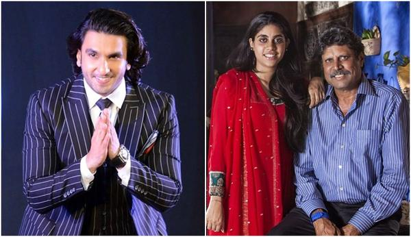 What is Kapil Dev's Daughter Doing in Ranveer Singh's 83?